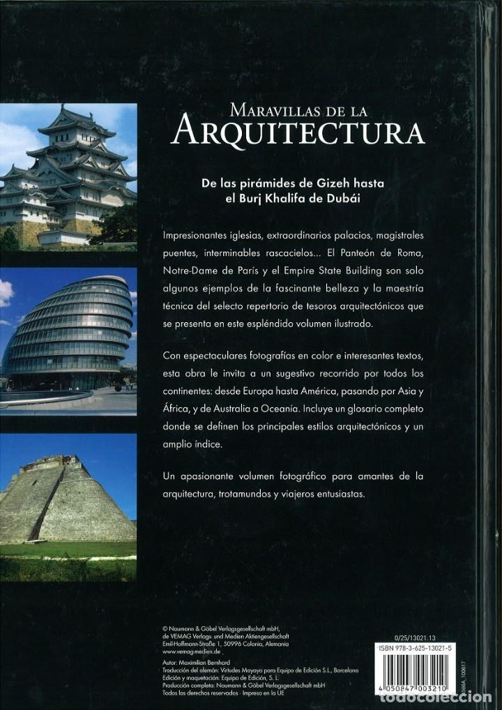 Libros de segunda mano: MARAVILLAS DE LA ARQUITECTURA. LOS EDIFICIOS MAS IMPRESIONANTES DEL MUNDO - Foto 2 - 210186851