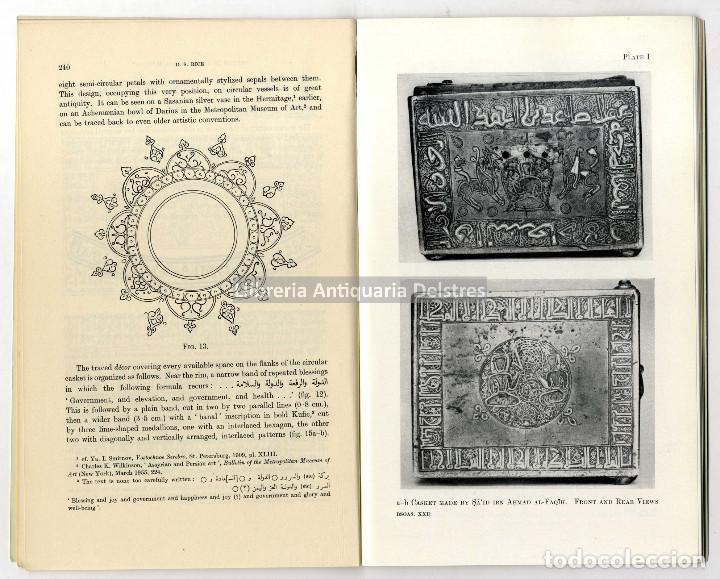 Libros de segunda mano: Rice, David Storn. Studies in Islamic Metal Work VI. [plates I-XVI]. - Foto 2 - 210190808