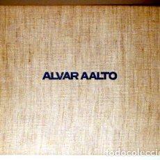 Libros de segunda mano: AALTO, ALVAR - ALVAR AALTO - ZÜRICH 1978 - ILUSTRADO - BOOK IN GERMAN. Lote 212742137