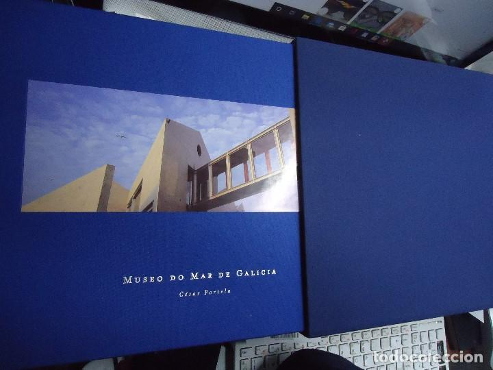 Libros de segunda mano: Museo do Mar de Galicia. César Portela Arquitecto. Fotografías de Sergio Portela. 2002. Espectacular - Foto 2 - 212792788
