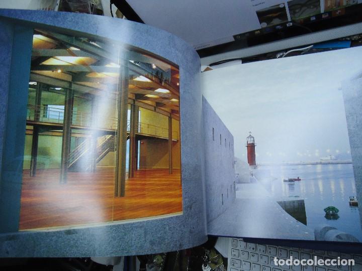 Libros de segunda mano: Museo do Mar de Galicia. César Portela Arquitecto. Fotografías de Sergio Portela. 2002. Espectacular - Foto 6 - 212792788