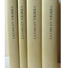 Libros de segunda mano: LA CASA EN NAVARRA , JULIO CARO BAROJA - 4 VOLUMENES COMPLETA 1982 - ARQUITECTURA POPULAR. Lote 213772025