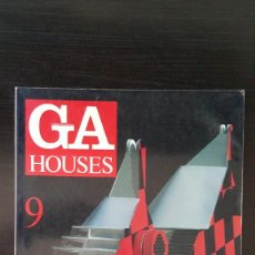 Libros de segunda mano: GA HOUSES GLOBAL ARQUITECTURE N°9. REVISTA DE ARQUITECTURA. Lote 214113076