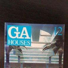 Libros de segunda mano: GA HOUSES GLOBAL ARQUITECTURE N° 12. REVISTA DE ARQUITECTURA. Lote 214113266