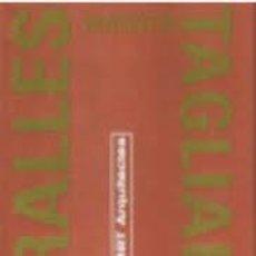 Libros de segunda mano: ENRIC MIRALLES BENEDETTA TAGLIABUE: EMBT ARQUITECTS. Lote 214443983