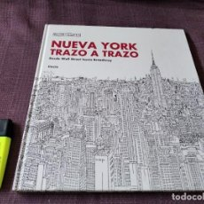 Libros de segunda mano: NUEVA YORK TRAZO A TRAZO, DESDE WALL STREET HASTA BROADWAY - ROBINSON. Lote 217609163
