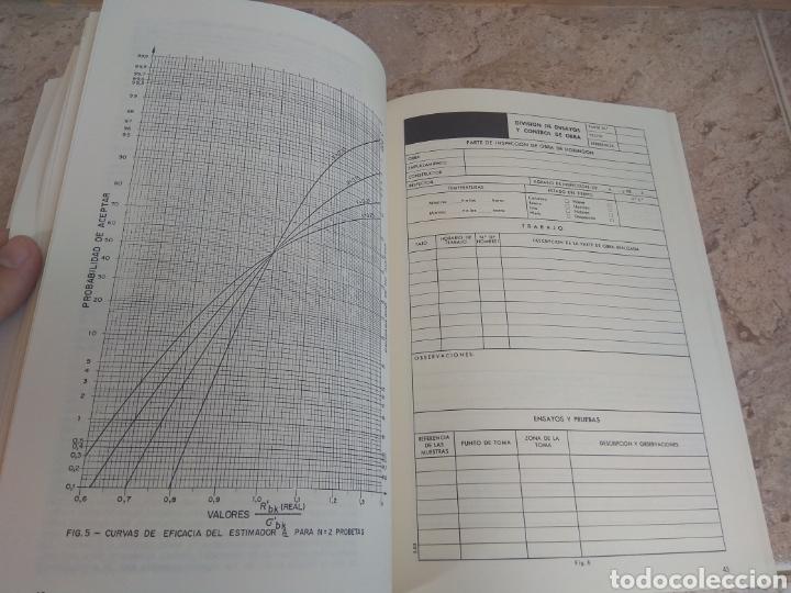 Libros de segunda mano: Libro Arquitectura Curso Control de Calidad en la Edificación - 1980 - - Foto 8 - 218544993