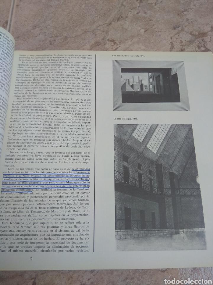 Libros de segunda mano: Arquitectura - Publicación Colegio Oficial de Arquitectos de Madrid 1978 - Leer Descripción - - Foto 12 - 218546316
