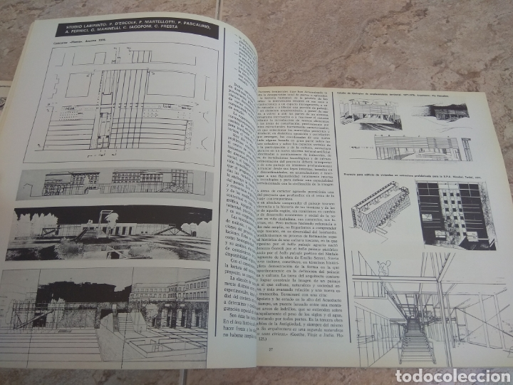 Libros de segunda mano: Arquitectura - Publicación Colegio Oficial de Arquitectos de Madrid 1978 - Leer Descripción - - Foto 13 - 218546316
