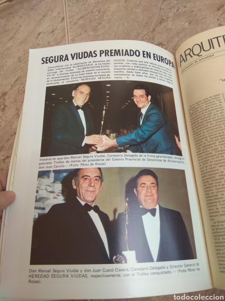 Libros de segunda mano: Revista Jano Arquitectura N°57 - 1978 - Mención Manuel Segura Viudas - Leer Descripción - - Foto 14 - 218546667