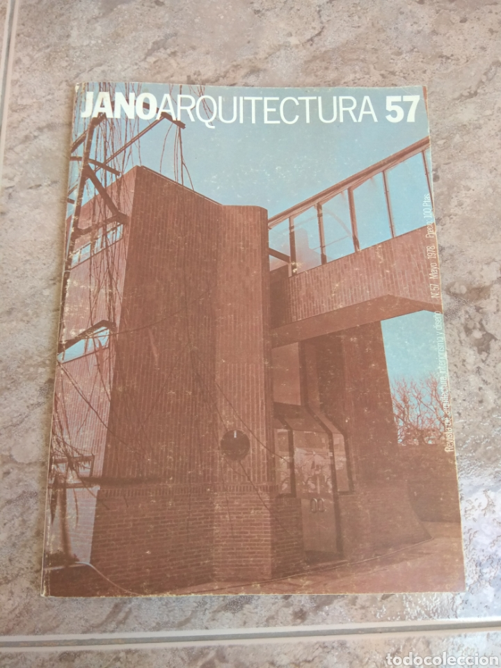 REVISTA JANO ARQUITECTURA N°57 - 1978 - MENCIÓN MANUEL SEGURA VIUDAS - LEER DESCRIPCIÓN - (Libros de Segunda Mano - Bellas artes, ocio y coleccionismo - Arquitectura)