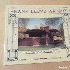 Libros de segunda mano: FRANK LLOYD WRIGHT - SPENCER HART - 1ª ED. -(M7). Lote 218753735