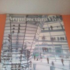 Libros de segunda mano: REVISTA ARQUITECTURA VIVA - 65 - MARZO - ABRIL - 1999 - PREMIOS PRITZKER. Lote 218768645