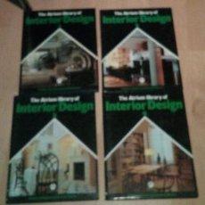 Libros de segunda mano: 4 VOLUMENES, DEL 1 AL 4 DE THE ATRIUM LIBRARY OF INTERIOR DESIGN EN INGLES. Lote 219232261