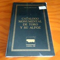 Libros de segunda mano: CATÁLOGO MONUMENTAL DE TORO Y SU ALFOZ.JOSÉ NAVARRO TALEGON.1980.CAJA AHORROS PROVINCIAL DE ZAMORA. Lote 219249866