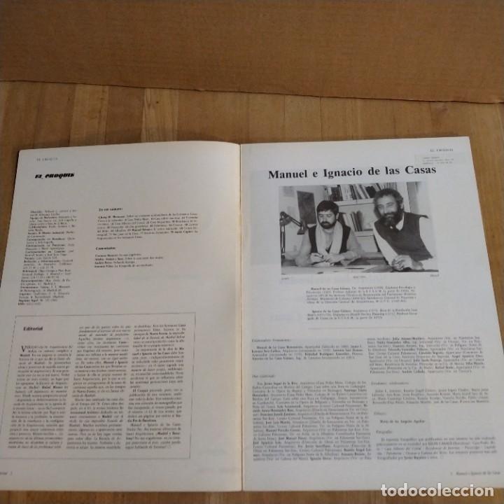 Libros de segunda mano: REVISTA EL CROQUIS 15 - 16 + PFC ( Proyecto final carrera) - Foto 3 - 213319852