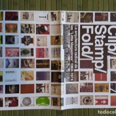 Libros de segunda mano: BEATRIZ COLOMINA - CLIP / STAMP / FOLD LA ARQUITECTURA RADICAL DE LAS LITTLE MAGAZINES 196X-197X. Lote 220771047