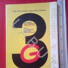 Livros em segunda mão: ARQUITECTURA 3 JAIME LOPEZ DE ASIAIN ARQUITECTURA SEVILLANA AÑOS 60 CM3. Lote 220952096