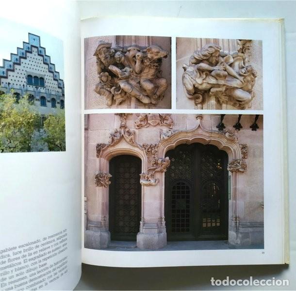Libros de segunda mano: Barcelona modernista. Fotografías Melba Levick y Textos Lluis Permanyer (1993) - Foto 4 - 220976002