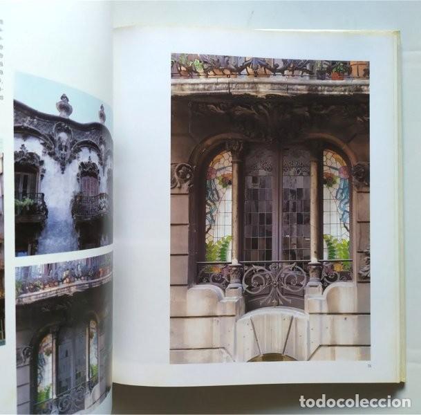 Libros de segunda mano: Barcelona modernista. Fotografías Melba Levick y Textos Lluis Permanyer (1993) - Foto 5 - 220976002