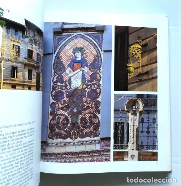 Libros de segunda mano: Barcelona modernista. Fotografías Melba Levick y Textos Lluis Permanyer (1993) - Foto 7 - 220976002