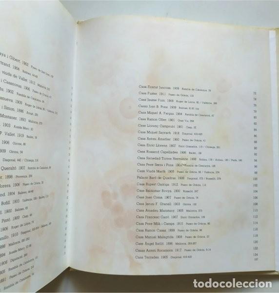 Libros de segunda mano: Barcelona modernista. Fotografías Melba Levick y Textos Lluis Permanyer (1993) - Foto 8 - 220976002