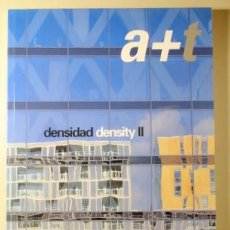 Libros de segunda mano: A+T. DENSIDAD DENSITY II - VITORIA 2002 - ILUSTRADO - EDICIÓN BILINGÜE. Lote 221225606