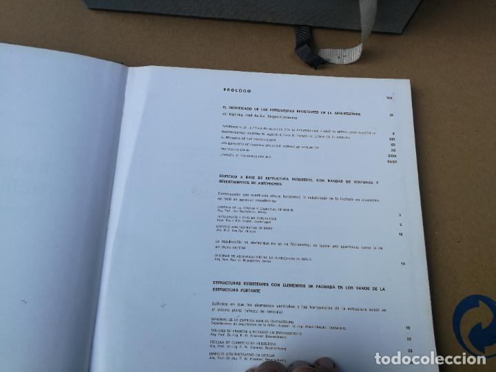 Libros de segunda mano: ESTRUCTURAS RESISTENTES Y ELEMENTOS DE FACHADA - M. FENGLER - EDT. GUSTAVO GILI. 1968. - Foto 2 - 221278701