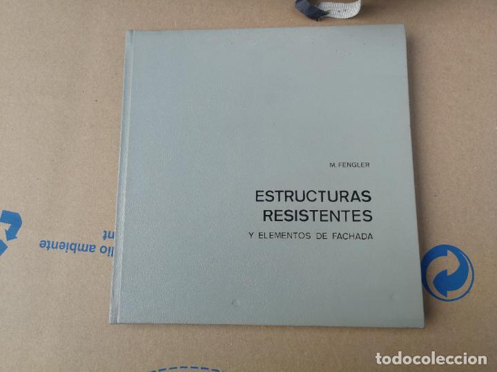ESTRUCTURAS RESISTENTES Y ELEMENTOS DE FACHADA - M. FENGLER - EDT. GUSTAVO GILI. 1968. (Libros de Segunda Mano - Bellas artes, ocio y coleccionismo - Arquitectura)
