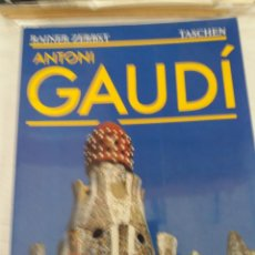 Livres d'occasion: ANTONI GAUDI. RAINER ZERBST. TASCHEN 1991 EN ESPAÑOL. 240 PAGS.. Lote 221279842
