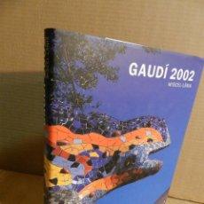 Libros de segunda mano: ANTONI GAUDI 2002 MISCELANEA - DANIEL GIRALT MIRACLE: . LIBRO ARQUITECTURA MODERNISTA MODERNISMO. Lote 221292321