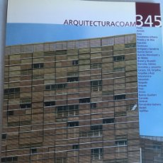 Libros de segunda mano: ARQUITECTURA COAM 345 - 346. Lote 222083463