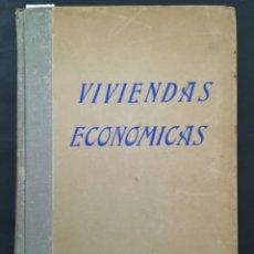 Libros de segunda mano: VIVIENDAS ECONOMICAS, 150 PROYECTOS ORIGINALES, 1946. Lote 222108010