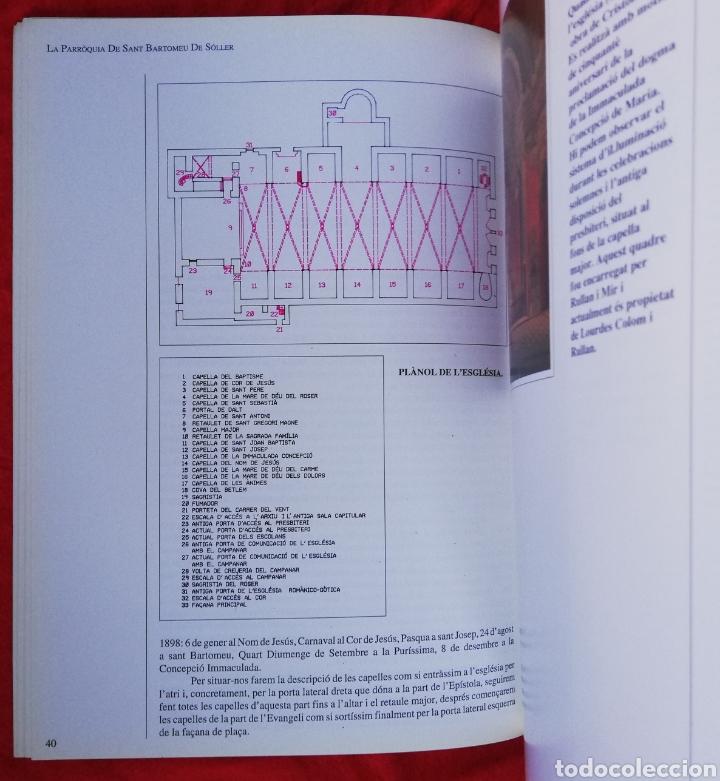 Libros de segunda mano: LA CATEDRAL DE MUNTANYA, LA PARRÒQUIA DE SANT BARTOMEU DE SÓLLER -1993- JOSEP A. MORELL GLEZ. -PJRB - Foto 5 - 243325125
