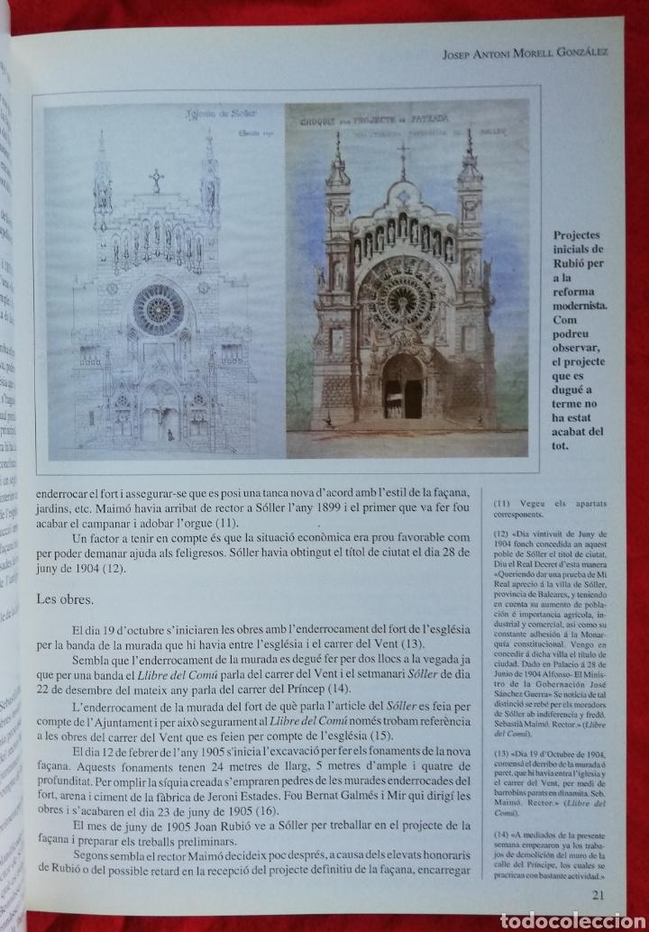 Libros de segunda mano: LA CATEDRAL DE MUNTANYA, LA PARRÒQUIA DE SANT BARTOMEU DE SÓLLER -1993- JOSEP A. MORELL GLEZ. -PJRB - Foto 3 - 243325125