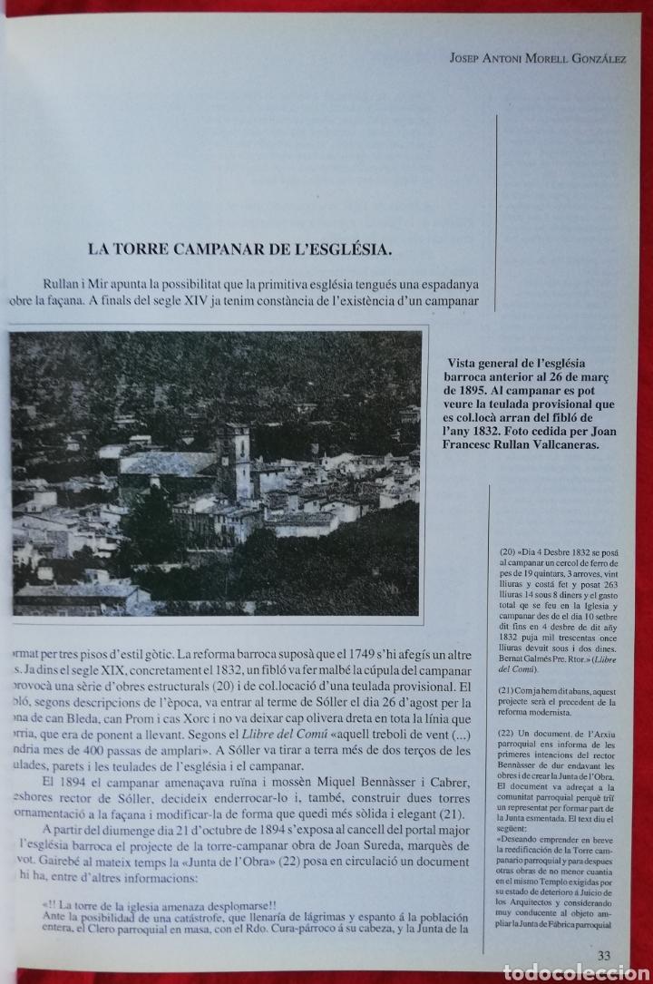 Libros de segunda mano: LA CATEDRAL DE MUNTANYA, LA PARRÒQUIA DE SANT BARTOMEU DE SÓLLER -1993- JOSEP A. MORELL GLEZ. -PJRB - Foto 2 - 243325125