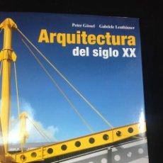 Libros de segunda mano: ARQUITECTURA DEL SIGLO XX PETER GÖSSEL / GABRIELE LEUTHÄUSER. TASCHEN, 1991. Lote 222309182