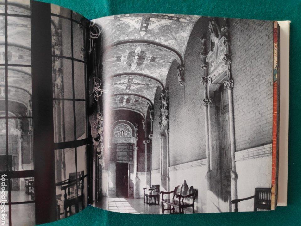 Libros de segunda mano: DOMENECH I MONTANER ARQUITECTURA LIBRO FOTOGRAFÍA ARQUITECTO DEL MODERNISMO - Foto 3 - 222664700