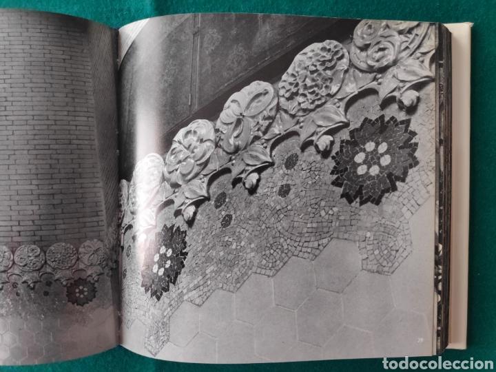 Libros de segunda mano: DOMENECH I MONTANER ARQUITECTURA LIBRO FOTOGRAFÍA ARQUITECTO DEL MODERNISMO - Foto 5 - 222664700