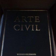 Libros de segunda mano: MANUAL DE ARTE CIVIL PARA EL ARQUITECTO. 1983-1993. WERNER HEGEMANN. ELBERT PEETS. CAJA DE ARQUITECT. Lote 222723855