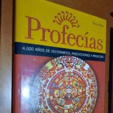 Libros de segunda mano: PROFECIAS. TONY ALLAN. TAPA DURA. BUEN ESTADO.. Lote 222947715