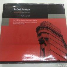Livros em segunda mão: RAFAEL FONTÁN ARQUITECTO 1595-1925-1986 DEL ART DECÓ A LA MODERNIDAD DE LOS CINCUENTA COLEGIO VASCO. Lote 224889850