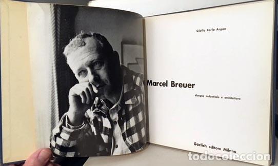 G. C. ARGAN : MARCEL BREUER (DISEGNO INDUSTRIALE E ARCHITETTURA) (Libros de Segunda Mano - Bellas artes, ocio y coleccionismo - Arquitectura)