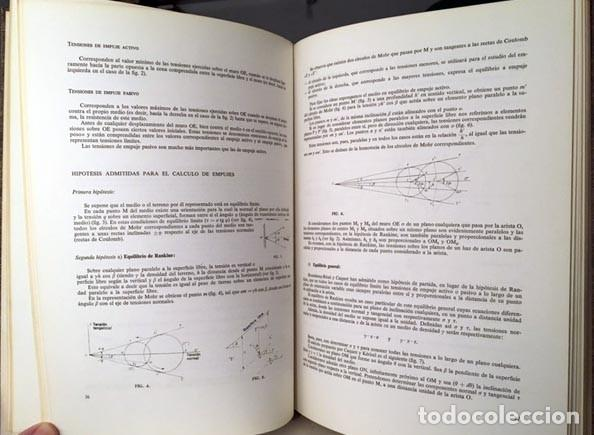 Libros de segunda mano: Mecánica del suelo y dimensionamiento de firmes. (Ed Blume. Construcción. Arquitectura) - Foto 2 - 226283398