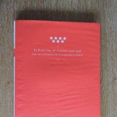 Libros de segunda mano: LIBRO LA REAL CASA DE CORREOS 1756-1998 - VER FOTOGRAFÍAS ADJUNTAS - COMUNIDAD DE MADRID 1998. Lote 226609820