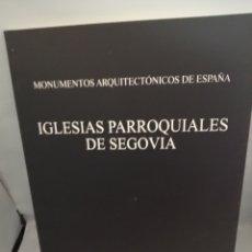 Libri di seconda mano: IGLESIAS PARROQUIALES DE SEGOVIA. Lote 228109170