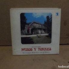 Libros de segunda mano: PAZOS Y TORRES REDONDELA - PENINSULA DEL MORRAZO - INVENTARIO 1974 - TOMO 2. Lote 228364256