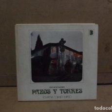 Libros de segunda mano: PAZOS Y TORRES LOURIÑA Y BAJO MIÑO - INVENTARIO 1975 - TOMO 3. Lote 228364500