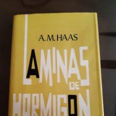Libri di seconda mano: ARQUITECTURA INGENIERÍA LAMINAS DE HORMIGÓN A.M.HAAS INSTITUTO EDUARDO TORROJA. Lote 231456400