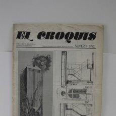 Libros de segunda mano: REVISTA DE ARQUITECTURA EL CROQUIS Nº 1. Lote 233544320